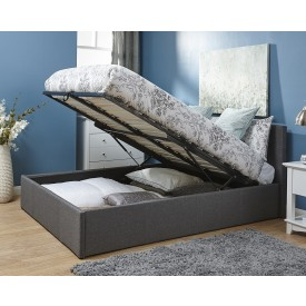 End Lift Ottoman Storage Bed Frame
