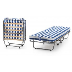 Single Folding Guest Bed With Sprung Mattress