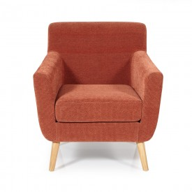 Orange Kelso Occasional Chair