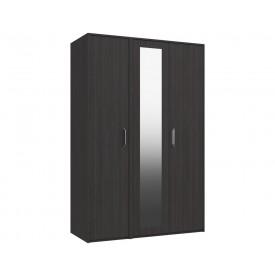 Marston Anthracite 3 Door Wardrobe With Mirror