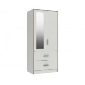 Marston White Combi Robe With Mirror