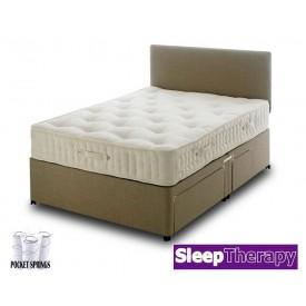 Natural Sleep Pocket 3000 Super Kingsize Divan Bed