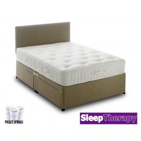 Natural Sleep Pocket 4000 Super Kingsize Divan Bed