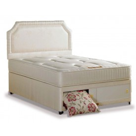 Onyx Luxury Three Quarter End Slidestore Divan Bed