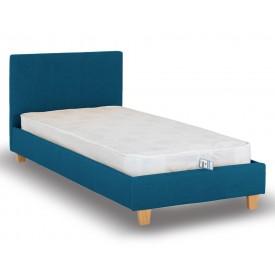 Berlin Parade Blue Single Bed Frame