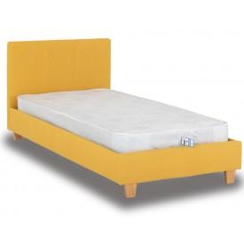 Berlin Parade Mustard Single Bed Frame
