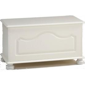 Richmond White Blanket Box