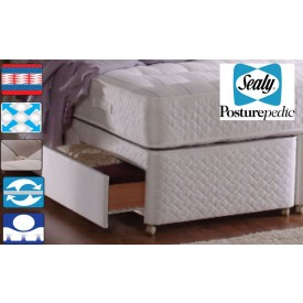 Sealy Backcare Elite Single 2 Drawer Bed
