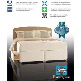 Sealy Backcare Elite Super Kingsize 4 Drawer Divan Bed