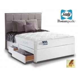 Sealy Pearl Memory Super Kingsize Divan Bed
