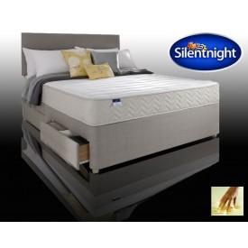 Silentnight Seoul Super Kingsize 2 Drawer Divan Bed With Memory