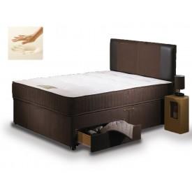 Special Memory Three Quarter 2 Drawer Divan Bed