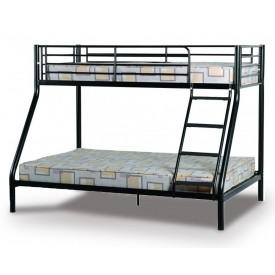 Tobias Black Triple Bunk Bed