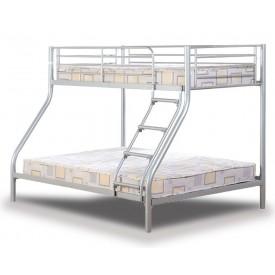 Tobias Silver Triple Bunk Bed
