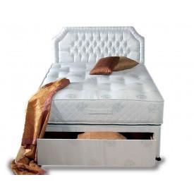 Topaz Ortho Kingsize End Drawer Divan Bed