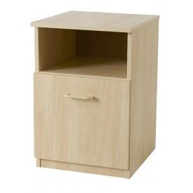 Woodgrain Bedside Locker