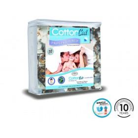 Cotton Cool Single Mattress Protector