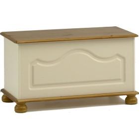Richmond Cream Blanket Box
