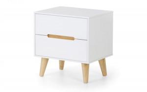 Alcester White Bedside Cabinet