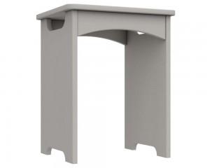 Cashmere Grey High Gloss Bedroom Stool